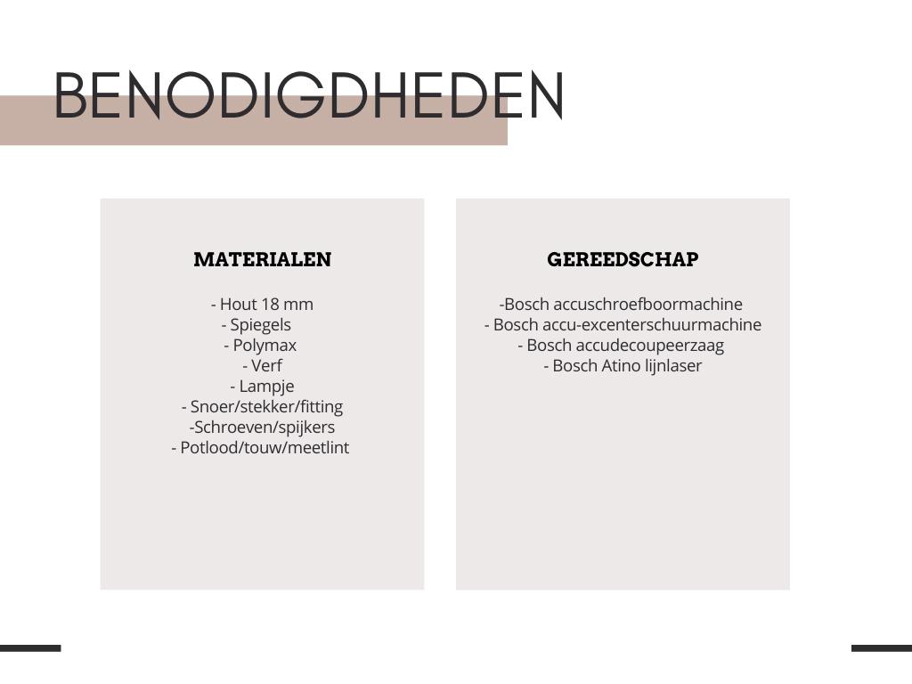 Bosch Atino lijnlaser DIY - Tanja van Hoogdalem
