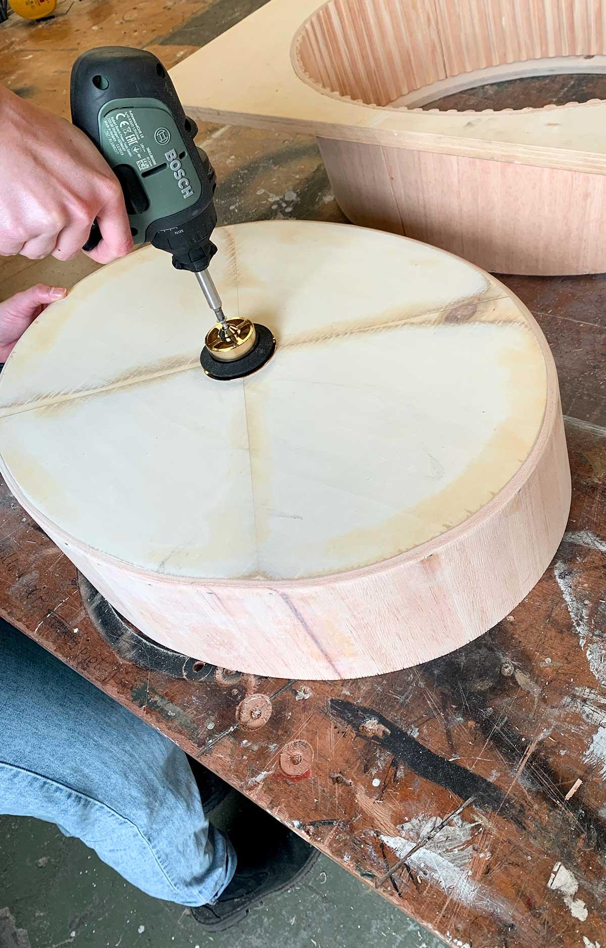Stappenplan ovale waskom - Tanja van Hoogdalem