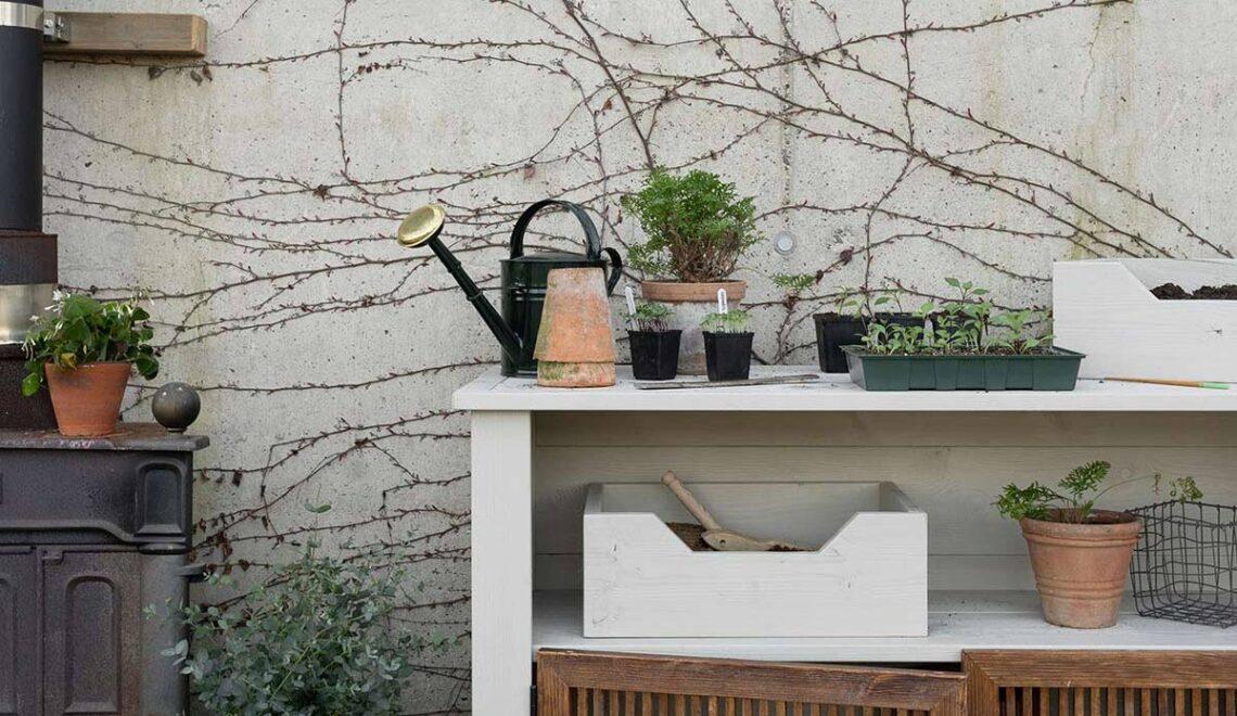 DIY voor de tuin deel 2: oppottafel