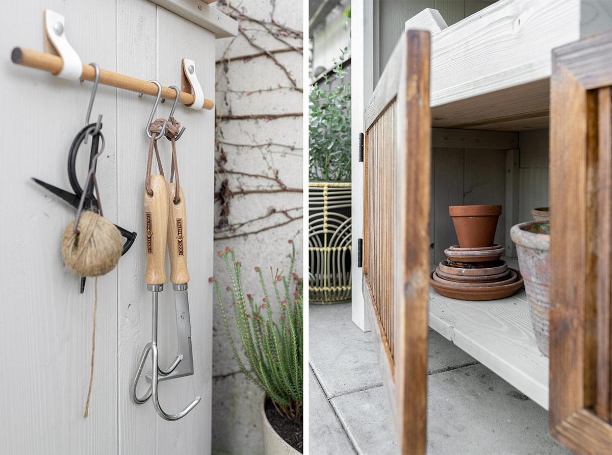 DIY oppottafel tuin - Tanja van Hoogdalem