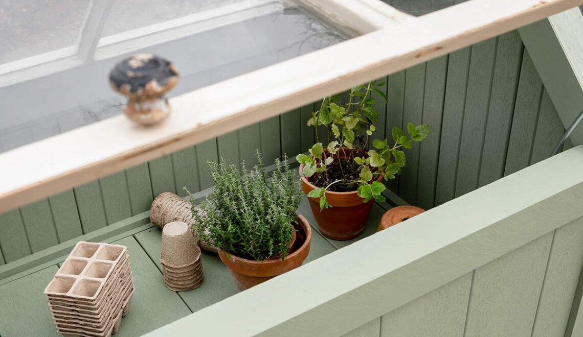 DIY voor de tuin deel 1: koude kas