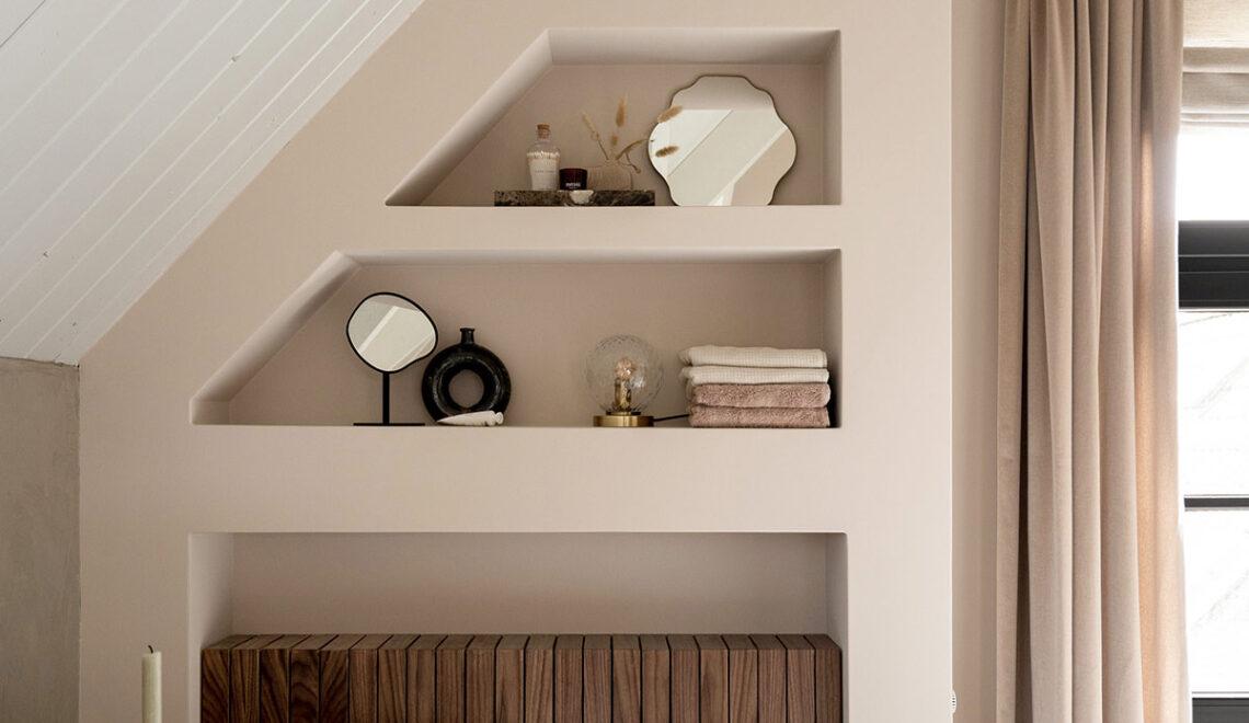 Wandkast en radiatorombouw in één