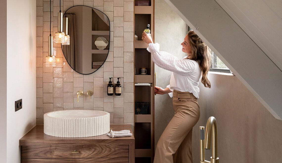 DIY badkamermeubel met lades