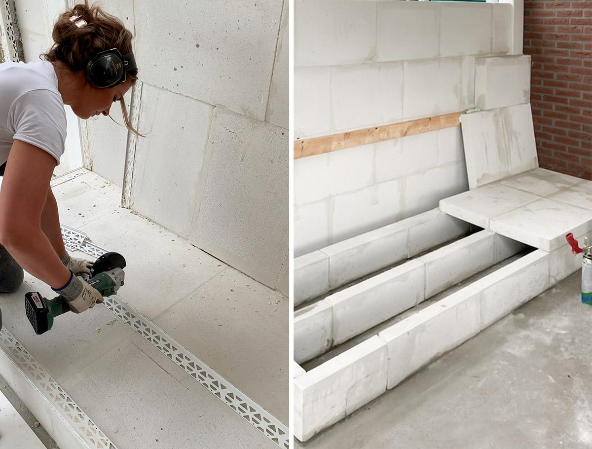 DIY loungebank - Tanja van Hoogdalem