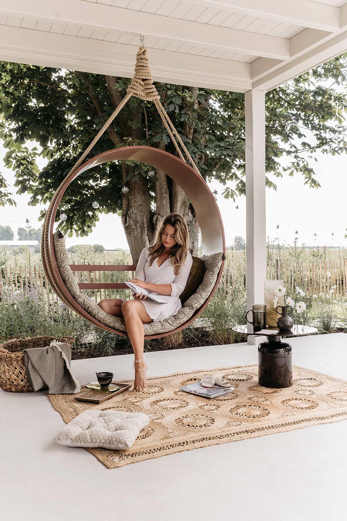 DIY hangstoel veranda - Tanja van Hoogdalem