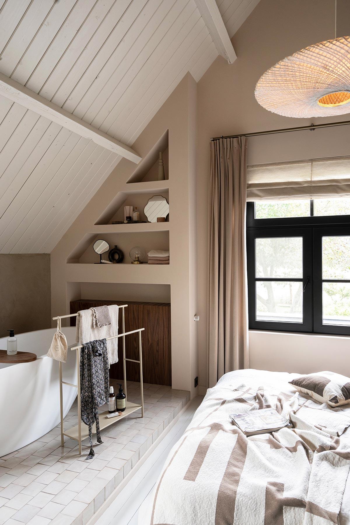 Badkamer Ferm Living handdoekhouder - Tanja van Hoogdalem