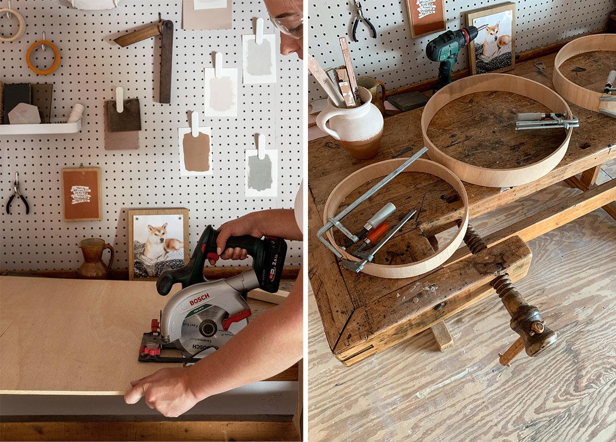 DIY hanglamp stappenplan - Tanja van Hoogdalem