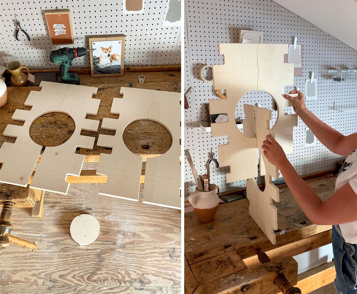 DIY lamp klussen - Tanja van Hoogdalem